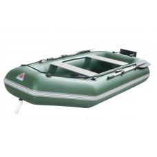 Лодка надувная YUKONA 280 GT (без пайола, транец в комплекте) (зеленая, серая)