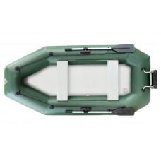 Лодка надувная YUKONA 300 GT (без пайола, транец в комплекте) (зеленая, серая)