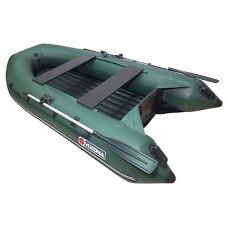 Лодка надувная YUKONA 300 НДНД (зеленая, серая, красная/черная)
