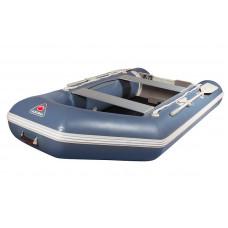 Лодка надувная 330TSE  (AL) -в комплекте с алюминиевым пайлом (зеленая, серая)